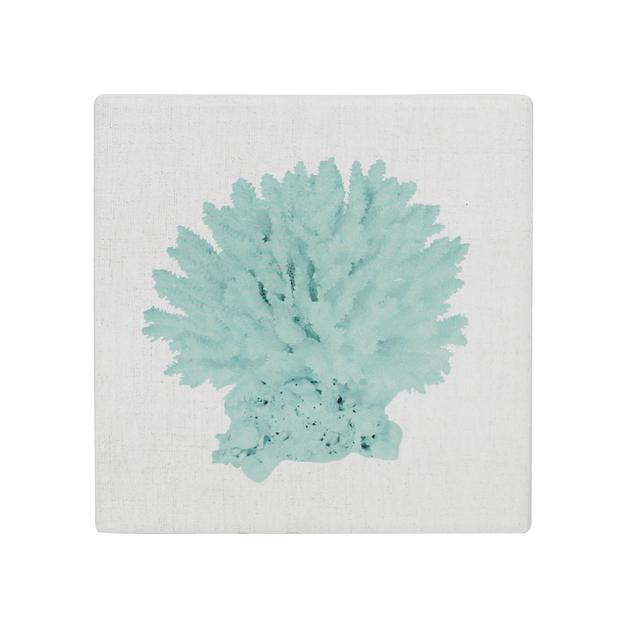 Splosh: Coastal Coral Ceramic Coaster