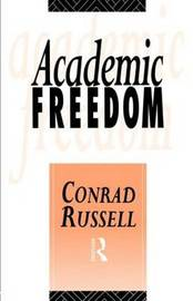 Academic Freedom by Conrad Russell image
