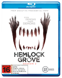 Hemlock Grove - The Complete Second Season on Blu-ray