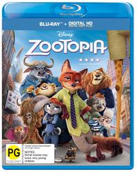Zootopia on Blu-ray