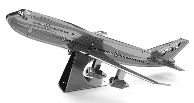 Metal Earth: Boeing 747 Commercial Jet - Model Kit