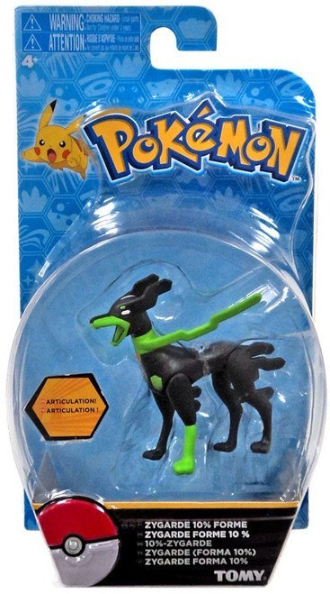 Pokémon: Action Pose Zygarde (10% Form) - Figure