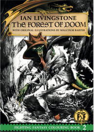 The Forest of Doom Colouring Book by Ian Livingstone
