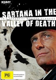 Sartana in the Valley of Death on DVD image