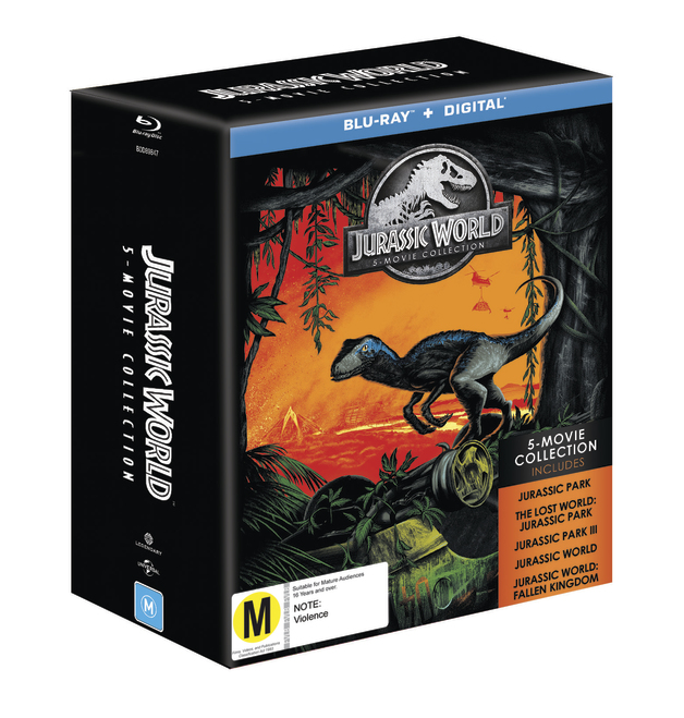 Jurassic 5 Movie Pack on Blu-ray