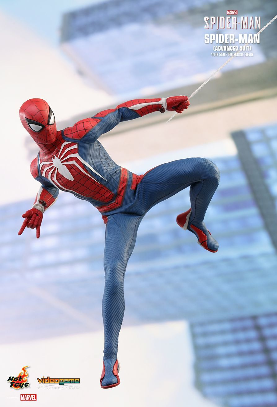 """Spider-Man (2018): Advanced Suit - 12"""" Articulated Figure image"""