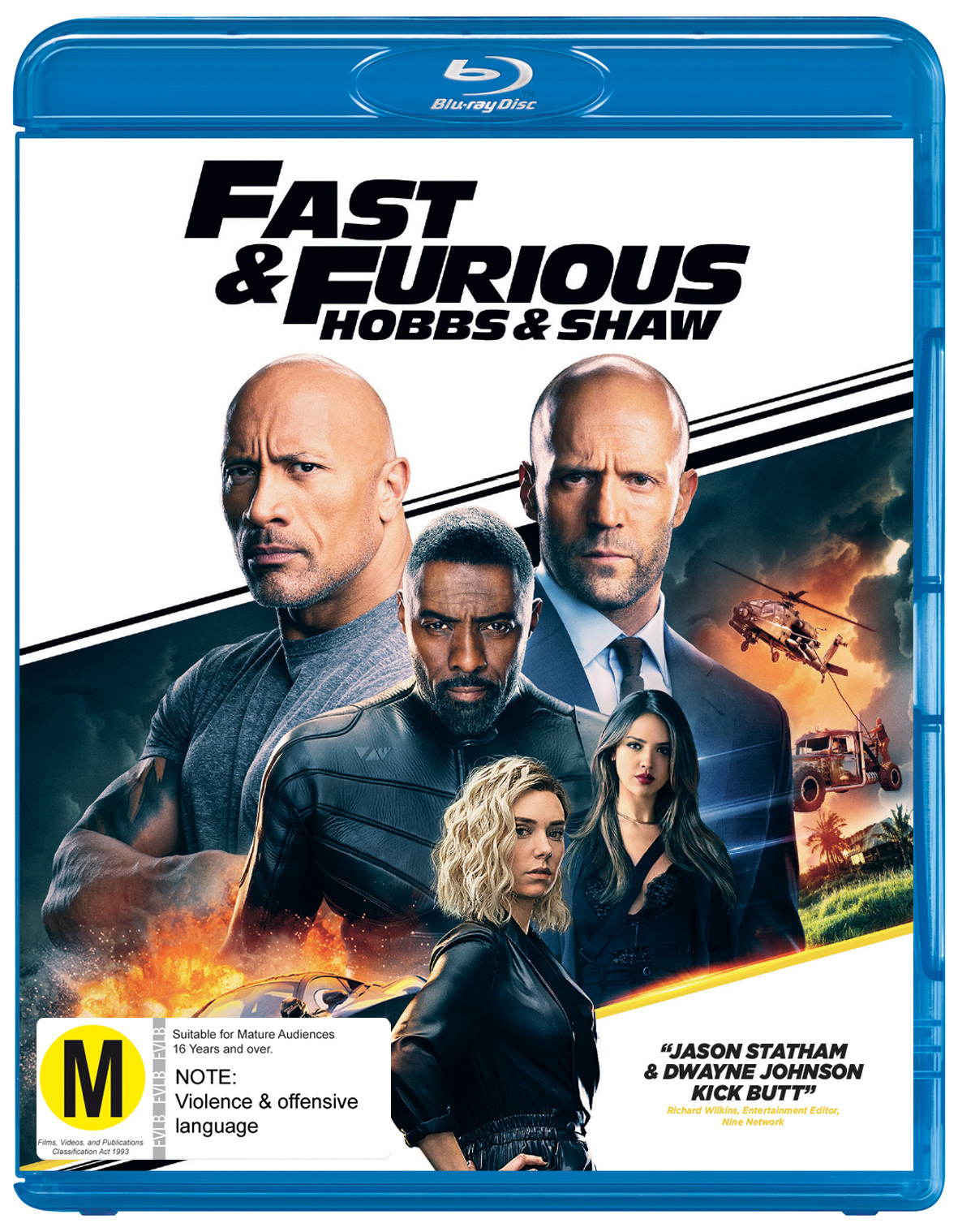 Fast & Furious Presents: Hobbs And Shaw on Blu-ray image