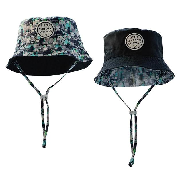 Little Renegade Company: Bears and Beasties Reversible Bucket Hat - Maxi