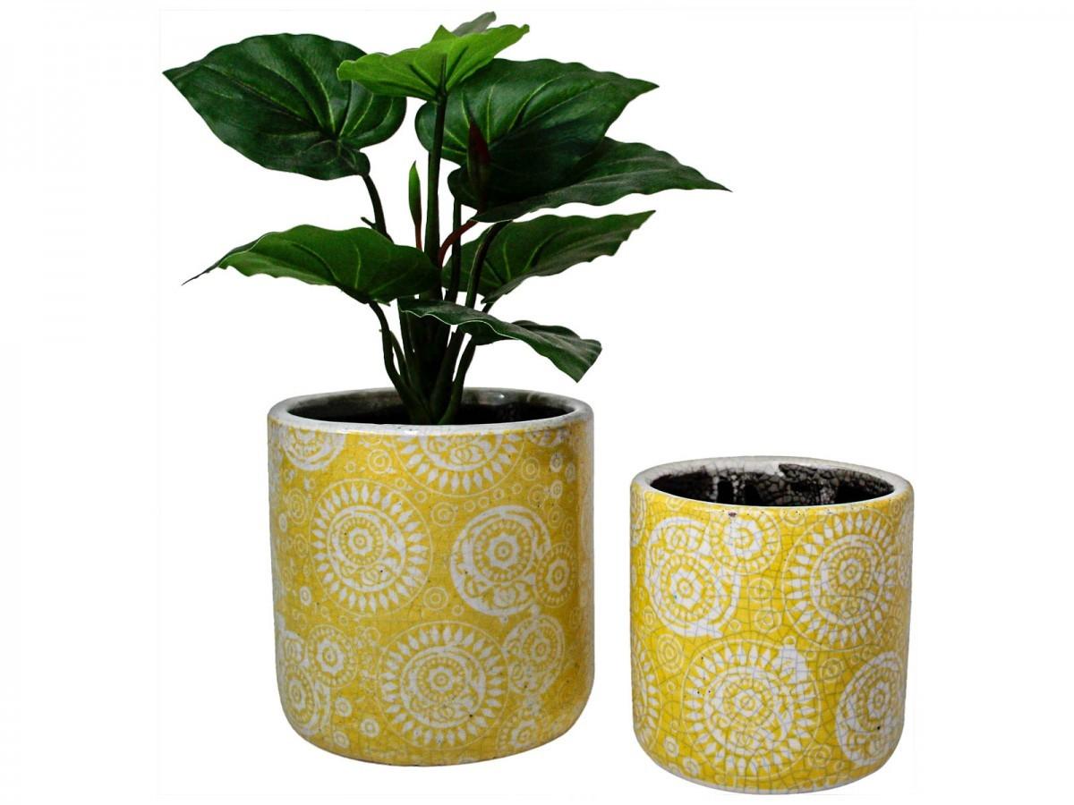 LaVida: Planter Pot - Sunburst Mustard image
