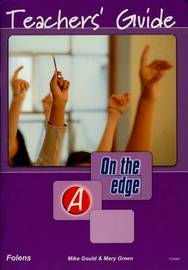 On the edge: Level A Set 1 - Teacher Book by Mike Gould image