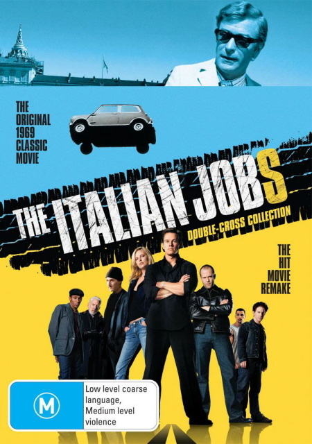 The Italian Jobs - Double-Cross Collection (2 Disc Set) on DVD