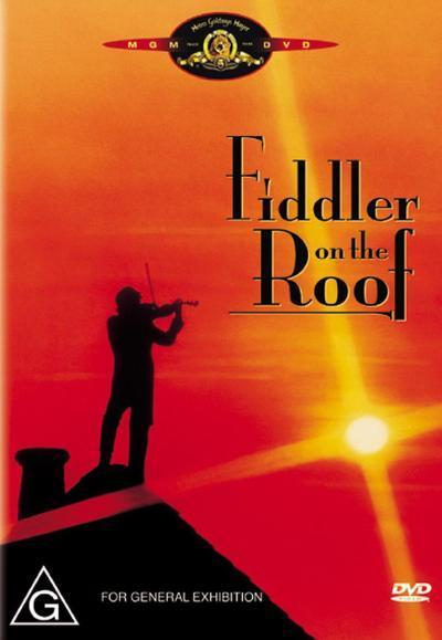 Fiddler On The Roof on DVD