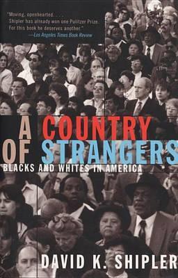 Country Of Strangers by David K Shipler image