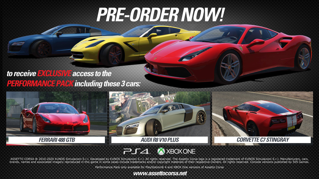 assetto corsa ps4 buy now at mighty ape australia. Black Bedroom Furniture Sets. Home Design Ideas