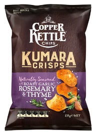 Copper Kettle Kumara Chips - Roast Garlic, Rosemary & Thyme (135g) image