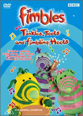 Fimbles - Tinkles, Toots And Fimbling Hoots on DVD