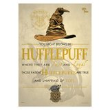 Harry Potter: Sorting Hat Hufflepuff - MightyPrint Wall Art