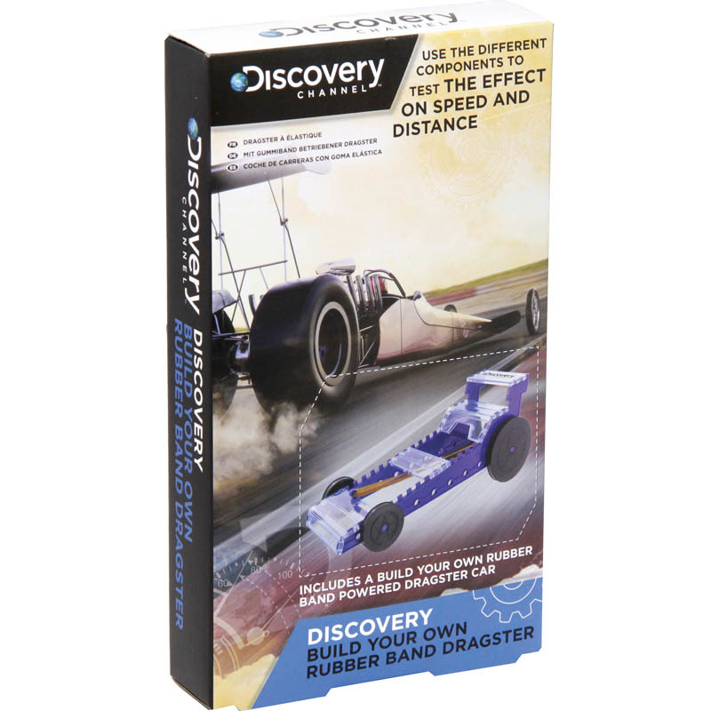 Discovery Channel: Build Your Own Rubber Band Dragster image