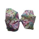 JoJo Siwa: Deluxe Large Unicorn Bow - Faded Rainbow (Many Unicorns)
