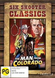 The Man From Colorado (Six Shooter Collection) on DVD