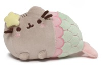 Pusheen the Cat: Mermaid - Star Shell Plush (18cm)