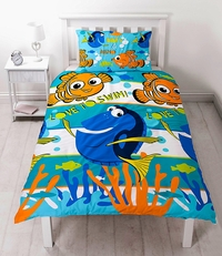 Disney Finding Dory Duvet Set - Single