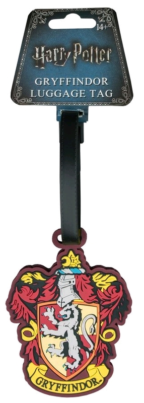 Harry Potter: Gryffindor Luggage Tag