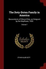 The Doty-Doten Family in America by Ethan Allen Doty image