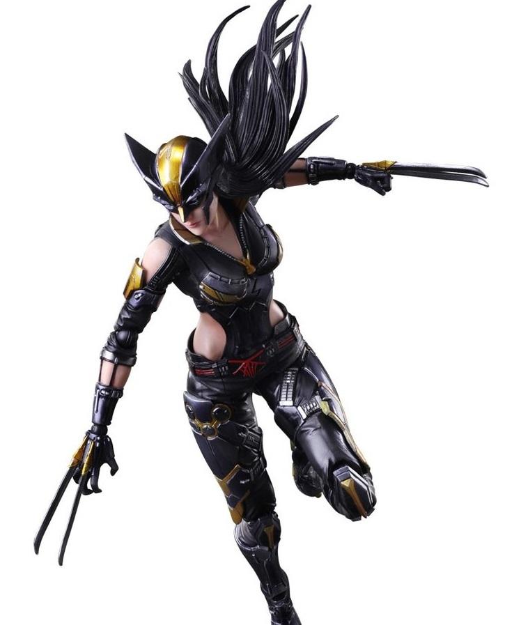 Marvel Universe: X-23 - Variant Play Arts Kai Figure image