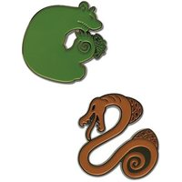 The Seven Deadly Sins: Envy & Sloth - Character Pin Set