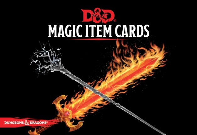 D&D Spellbook Cards Magic Item Deck (294 cards)