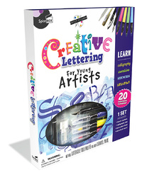 Spice Box: Creative Lettering For Young Artists - Art Kit