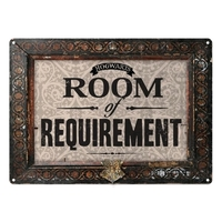 Harry Potter - Room of Requirement Small Tin Sign