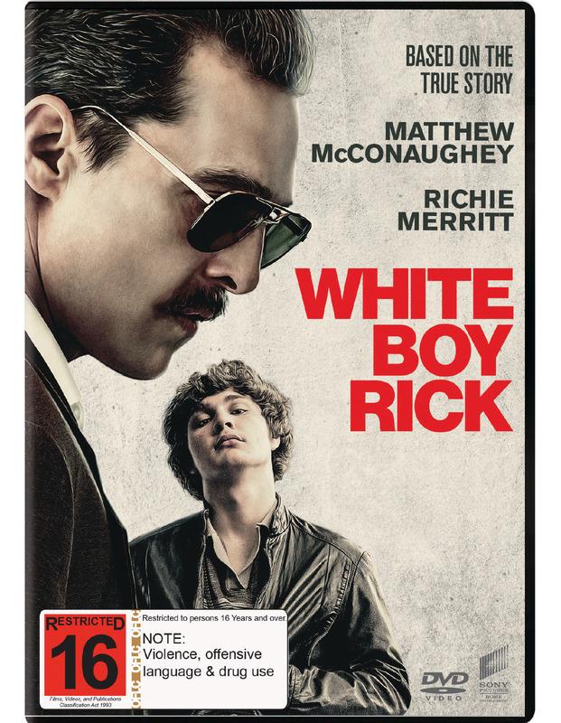 White Boy Rick on DVD