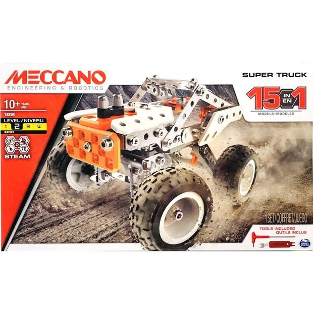 Meccano: 15 Model Set - Rock Crawler