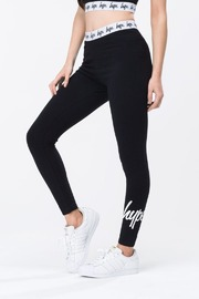 Just Hype: Taped Women's Leggings Black - 8