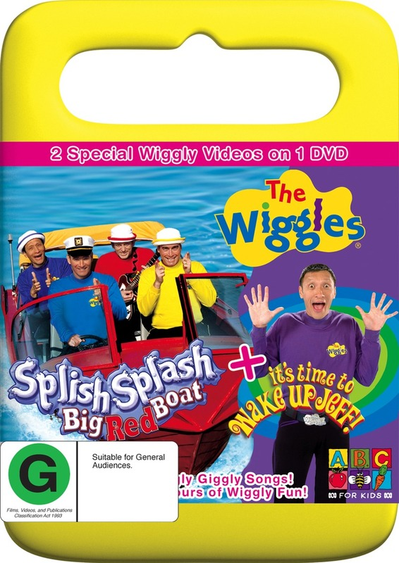 The Wiggles - Splish Splash Big Red Boat / Wake Up Jeff on DVD