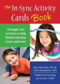 The In-Sync Activity Cards Book by Carol Kranowitz