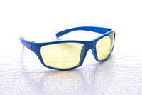 NoScope Minotaur Computer Gaming Glasses - Tsunami Blue for PC Games image
