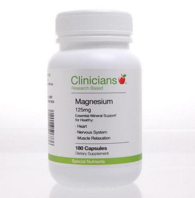 Clinicians Magnesium 625 (180 Capsules)