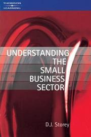 Understanding the Small Business Sector by D.J. Storey image