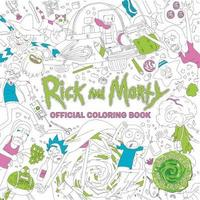 Rick and Morty Official Coloring Book by Titan Books