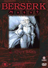 Berserk - V3 - White Hawk on DVD