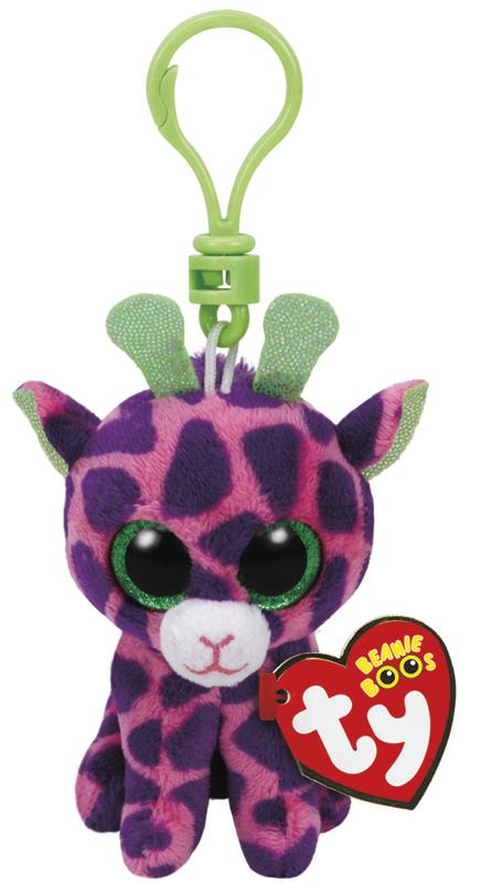 Ty Beanie Boos: Gilbert Giraffe - Clip On Plush