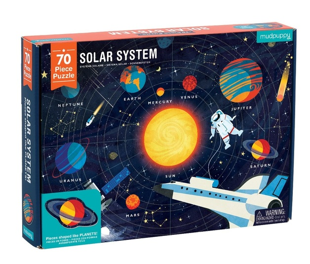 Mudpuppy: Solar System - 70 Piece Puzzle