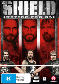 WWE: The Shield: Justice For All on DVD