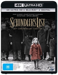 Schindler's List on UHD Blu-ray