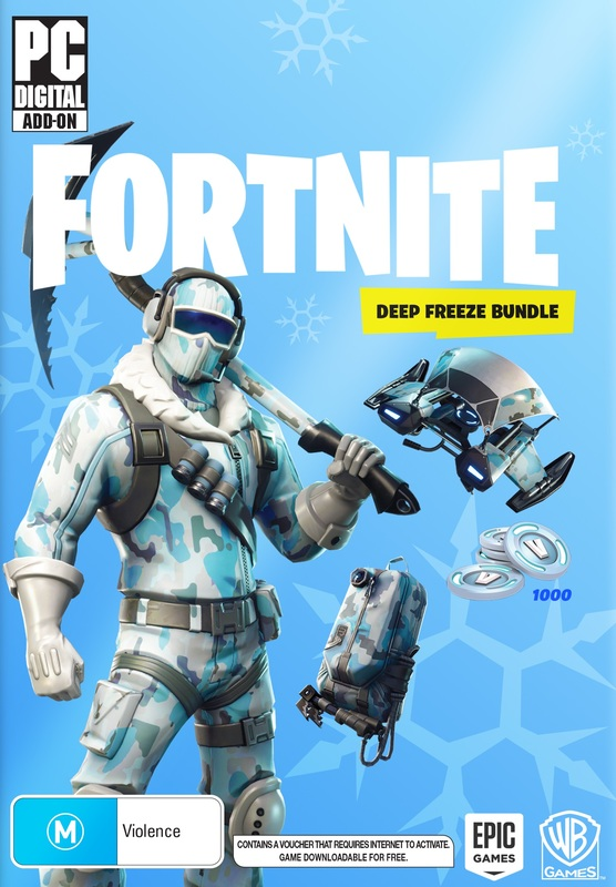 Fortnite: Deep Freeze Bundle (code in box) for PC