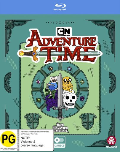 Adventure Time: Complete Collection - (Fatpack) on Blu-ray