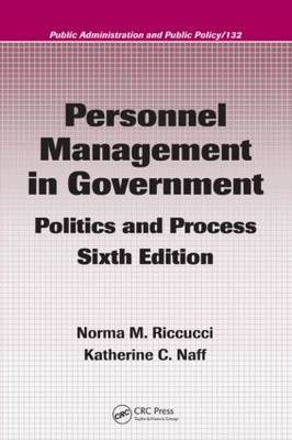 Personnel Management in Government: Politics and Process by Katherine C. Naff image